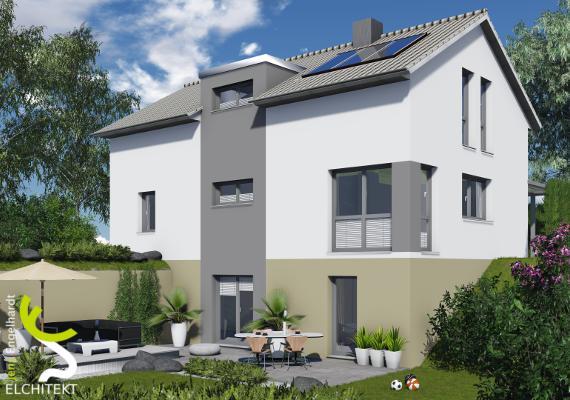 175 bis 225 m² Lebensraum möglich