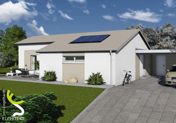 90 - 110 m² Lebensraum möglich
