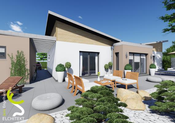 95 - 130 m² Lebensraum möglich