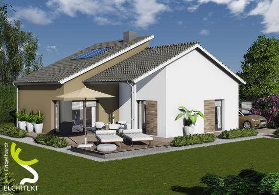 80 - 170 m² Lebensraum möglich