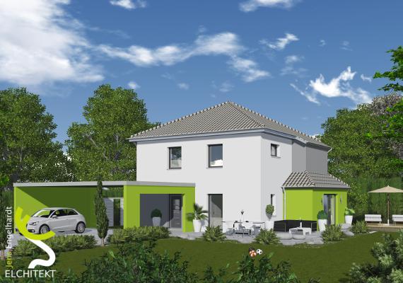 120 - 145 m² Lebensraum möglich