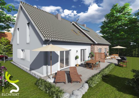 250 - 325 m² Lebensraum möglich